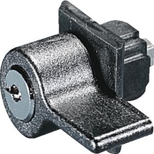 Kunststoff-Handgriff Ausführung B mit Sicherheitszylinder-Einsatz