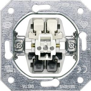 DELTA Schalter-Geräteeinsatz UP Ausschalter 2pol. 16A 250V