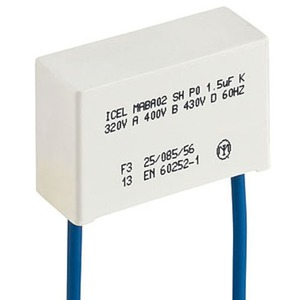 Kondensator 1mF für Serie 26 zum Betrieb mit Leuchttaster