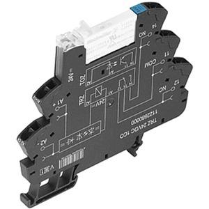 Relaiskoppler mit Zugfederanschluss TRZ 24VDC 1CO 1 Wechsler