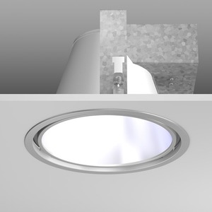 Einbaudownlight TC-TE/2x26W D241 H173,EVG