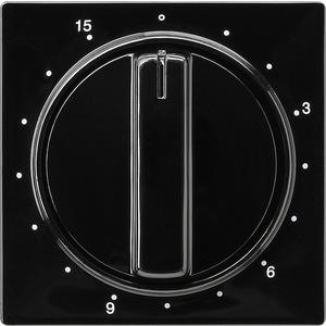 Abdeckung Zeitschalter 15 Min. für S-Color schwarz