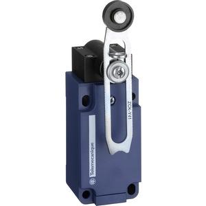 Positionsschalter mit verstellbarem Rollenhebel 1S+1Ö XCKS141H29