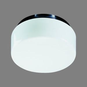 Decken/Wandleuchte 2x7W G23 TC-S DM:250mm opal schwarz