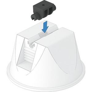 Adapter für Dachleitungshalter universal ø 4mm PP schwarz
