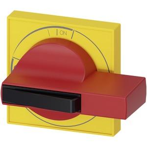 Zubehör für 3KD Baugr. 2 Türkupplungsdrehantrieb Handgriff gelb/rot