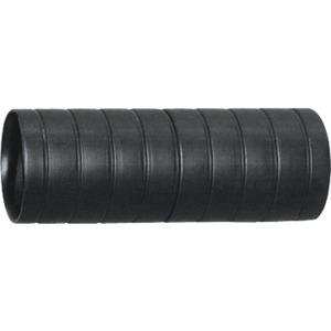 Kunststoff Steckmuffe 25 schwarz halogenfrei Rille
