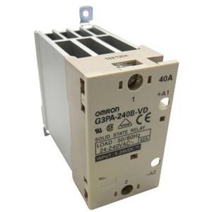 Halbleiterrelais 1-phasig integrierter Kühlkorper  40A 24 - 240V AC