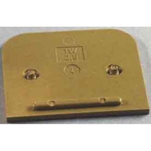 Abschluss- Zwischenplatte TW SAK2.5 KRG