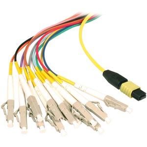 MTP / APC(F) - LC / UPC OS2 9 / 125 OS2 Fanout LowLoss 5m