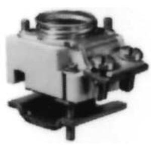 NEOZED Reihen-Sicherungssockel D02 63A 400 volt Schnappbefestigung