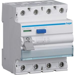 Fehlerstrom-Schutzschalter 4-polig 40 A 30 mA Typ AC