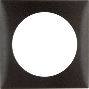 Abdeckrahmen 1-fach Integro Flow braun / matt