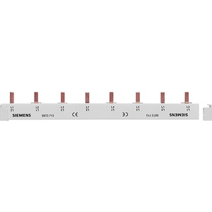 Stiftsammelschiene 16 mm² 3x1-phasig+HS 214mm lang vollisoliert