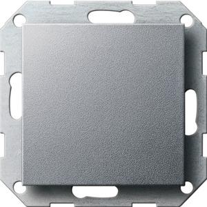 Blindabdeckung mit Tragring für System 55 Aluminium