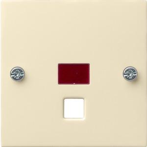 Abdeckung Zugtaster/schalter für System 55 cremeweiß
