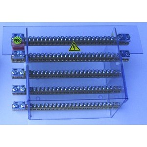 Sammelschienensystem 125A/4pol Anschlußmöglichkeiten 20x10mm2