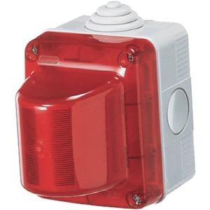 Aufputz - Signalleuchte rot IP54