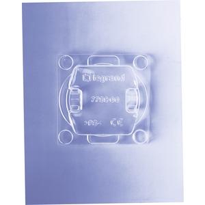 Schutzabdeckung für Schalter- und Steckdoseneinsätze