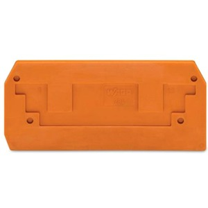 Abschluss- und Zwischenplatte 2,5 mm dick orange