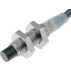 Näherungsschalter induktiv M8 n. abgeschirmt 4 mm DC 3-adrig NPN 1S