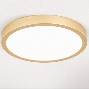 Deckenleuchte gold-matt LED 22W 2100lm 3000K DM:23cm H:2,4cm