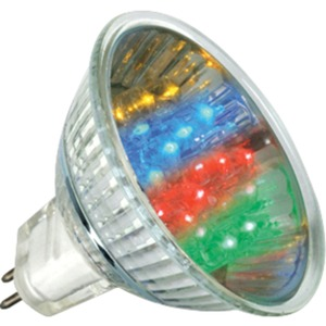 LED Reflektorlampe 1 Watt GU5,3 7 Colors