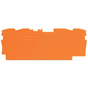 Abschluss- und Zwischenplatte 1 mm dick orange