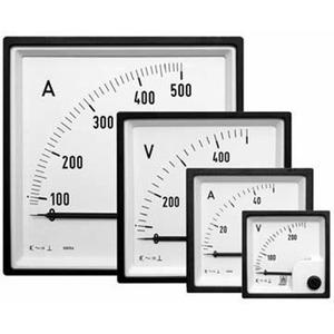 Amperemeter FQ0307 X/1A 72x72mm ohne Skala