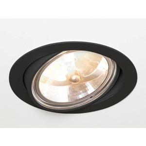 ONLY-M-LED Einbaustrahler schwarz 1x AR111 35-100W G53
