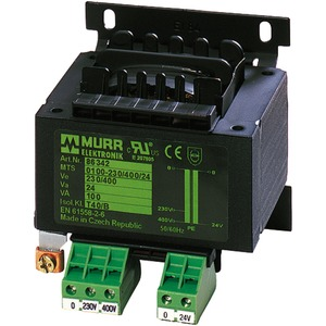 Sicherheitstrafo MTS 160VA IN: 230/400V AC OUT: 24V AC