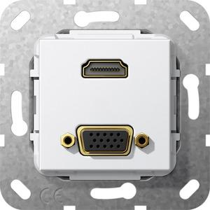 Einsatz HDMI High Speed with Ethernet und VGA Kabelpeitsche
