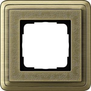 1-fach Abdeckrahmen für ClassiX Art Bronze