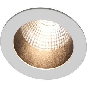 Einbaustrahler LOOK SMALL ROUND LED weiß matt RAL 9003 LED 7W