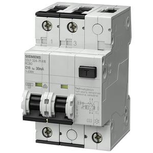 FI-/Leitungsschutzeinrichtung Typ A IFN 30mA 10kA 2pol. B 16A 3TE