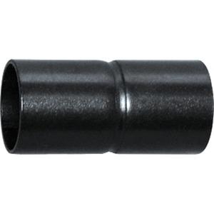 Steckmuffe Stahlrohr 16 mm brüniert schwarz