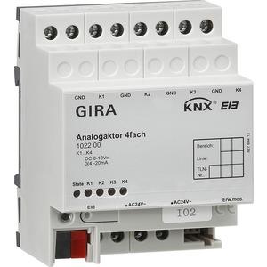 Analogaktor 4-fach KNX/EIB REG