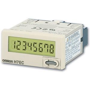 LCD-Summenzähler schwarz 48x24mm o. Hilfsspannung 20Hz 0 - 99999999
