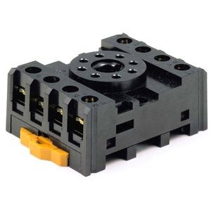 Sockel für DIN-Schienen-/Oberflächenmontage für MKS-2 und 61F-GPN8