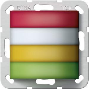 Zimmersignalleuchte rot,weiß,Gelb,Grün Rufsystem 834 Plus