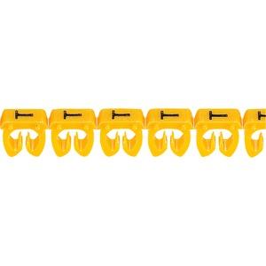 """CAB 3 Kabelkennzeichnung 0,5 - 1,5 mm² Buchstabe """"T"""""""
