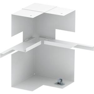 Inneneck vereinfacht asymmetrisch 70x210mm St reinweiß RAL 9010