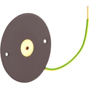 Deckel für Schraubbefestigung schwarz Ø 80mm