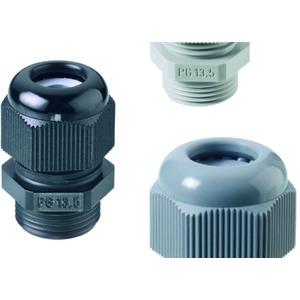 Perfect Kabelverschraubung PG16 schwarz 7 -12 mm