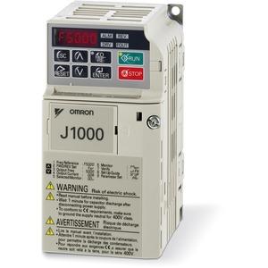 Frequenzumrichter J1000 0,4 kW 3.0 A 230 VAC 1-phasig U/F-Steuerung