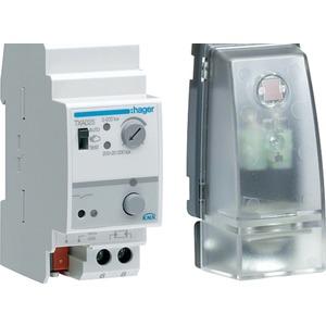 Dämmerungsschalter KNX mit Sensor 20 kLux