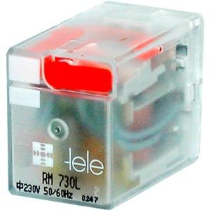Miniaturrelais 100603LD 24VDC 4 Wechsler LED