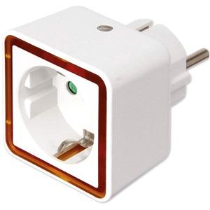 LED Nachtlicht mit Dämmerungsautomatik 2 LEDs/0,8W und Steckdose