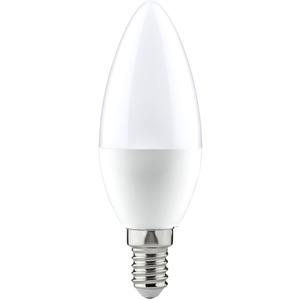 LED Kerzenlampe 5,5W E14 230V 2700K 470lm opal
