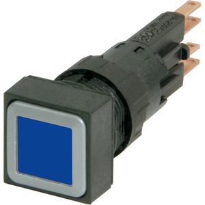 Leuchtdrucktaste blau rastend Glühlampe 24 V